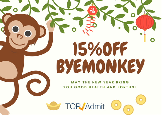 Use code BYEMONKEY to get 15% OFF!