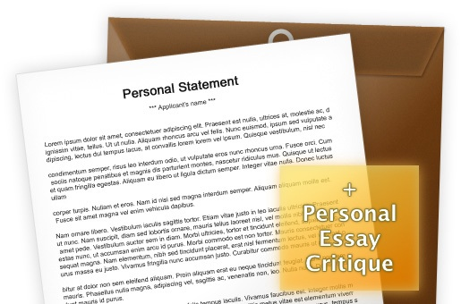 Personal Statement (PS / SOP) Editing