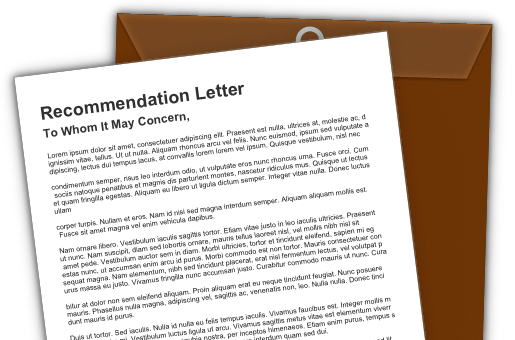 college recommendation letter editing