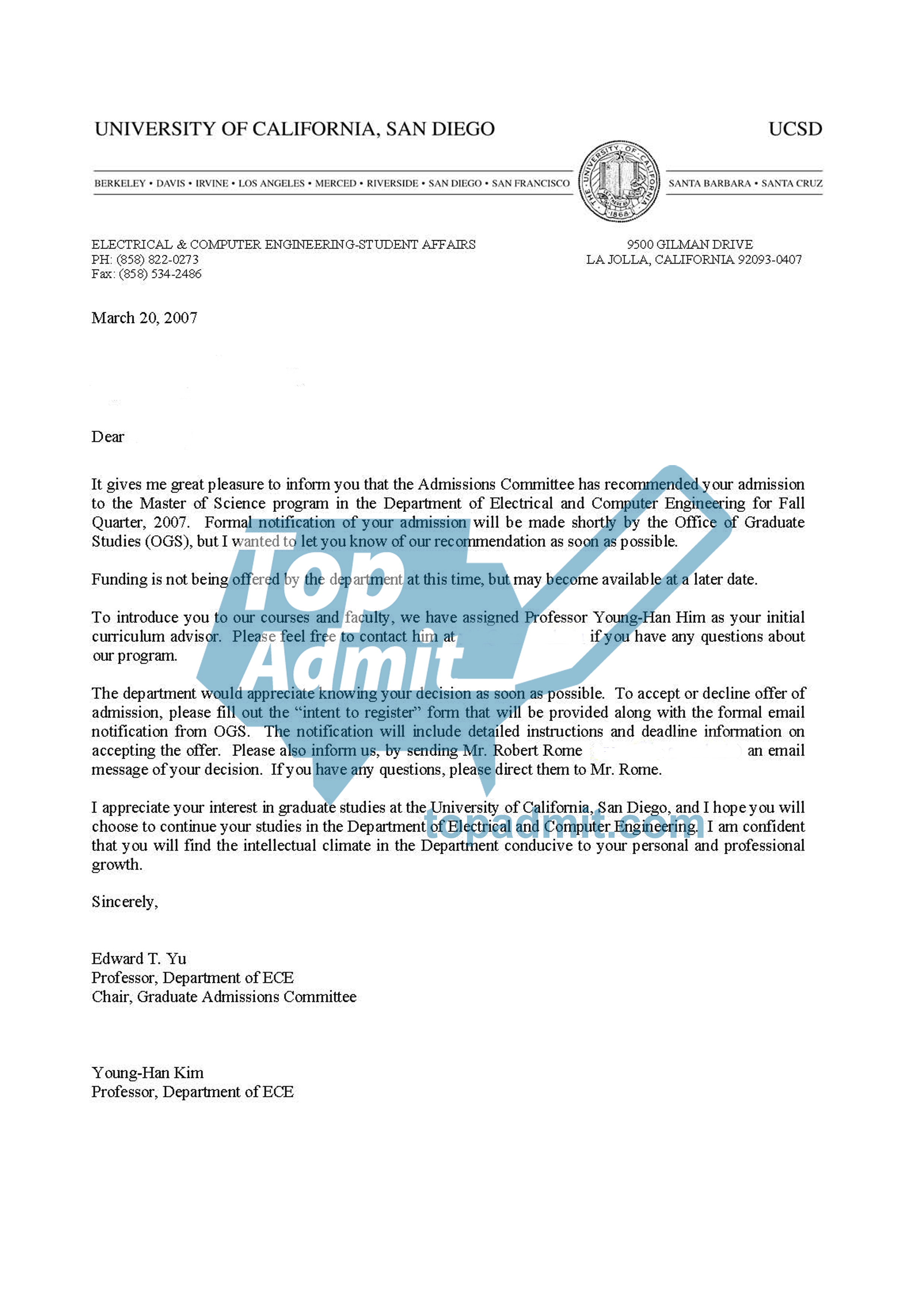 How to write a letter of re mendation for a student applying to
